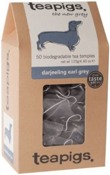 Teapigs Darjeeling Earl Grey 50 teepussia