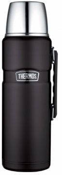 Thermos Stainless King Vacuum Insulated Bottle 2000 ml, Matte Black