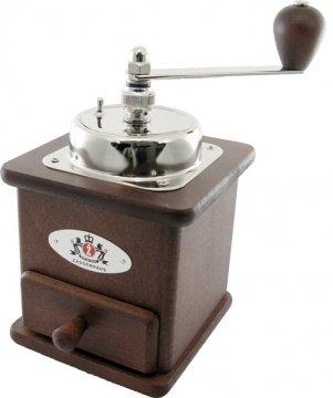Zassenhaus Brasilia käsikäyttöinen kahvimylly, petsattu