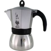 Bialetti Moka Induction Anthracite 6 Cup Stovetop Espresso Maker