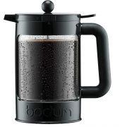 Bodum Bean Set 12 kupin cold brew kahvikannu 1500 ml, musta