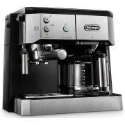 DeLonghi BCO421.S Combi dual coffee machine for espresso and drip coffee