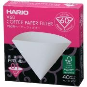 Hario V60 Size 01 Coffee Paper Filters 40 pcs