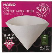 Hario V60 Size 02 Coffee Paper Filters 40 pcs
