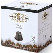 Miscela d'Oro Black Nespresso-yhteensopiva kapseli 10 kpl