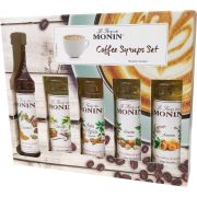 Monin Coffee Set 5 makusiirappia